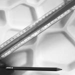 Marcar el área total sobre el panel utilizando un lápiz.